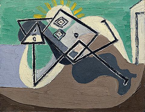 Pablo-Picasso_Femme-etendue-sur-la-plage_1932_4_26.03.1932