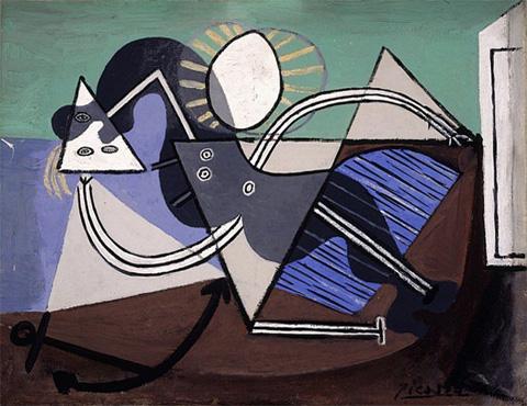 Pablo-Picasso_Femme-etendue-sur-la-plage_1932_6_28.03.1932