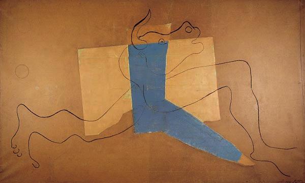 Картина Пабло Пикассо. Минотавр. 1928