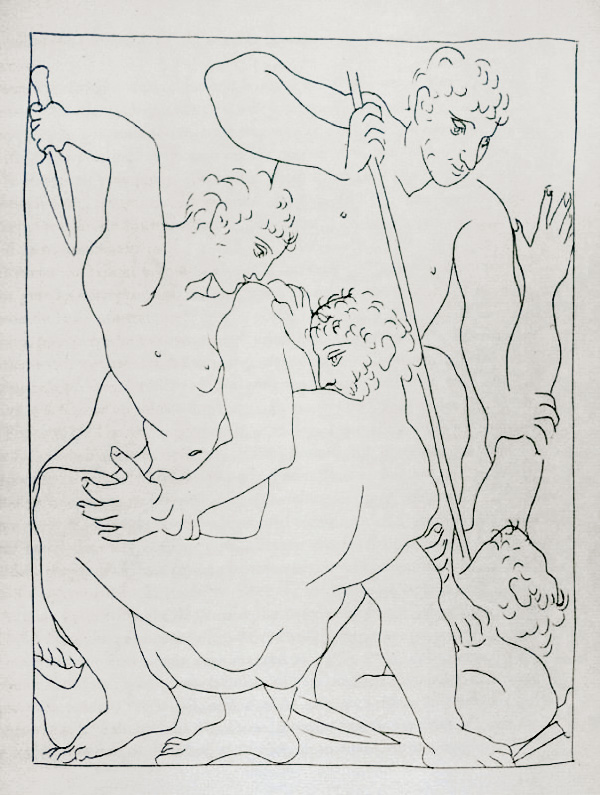 120-121_Combat-pour-Andromede-entre-Persee-et-Phinee_Picasso_Les-Metamorphoses-by-Ovid