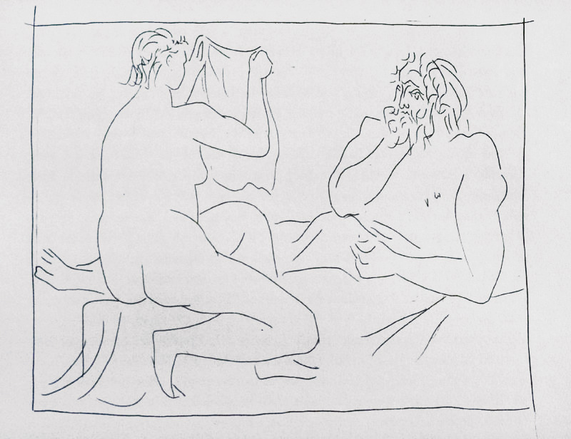 133_Arachnee-montrant-son-travail_Picasso_Les-Metamorphoses-by-Ovid