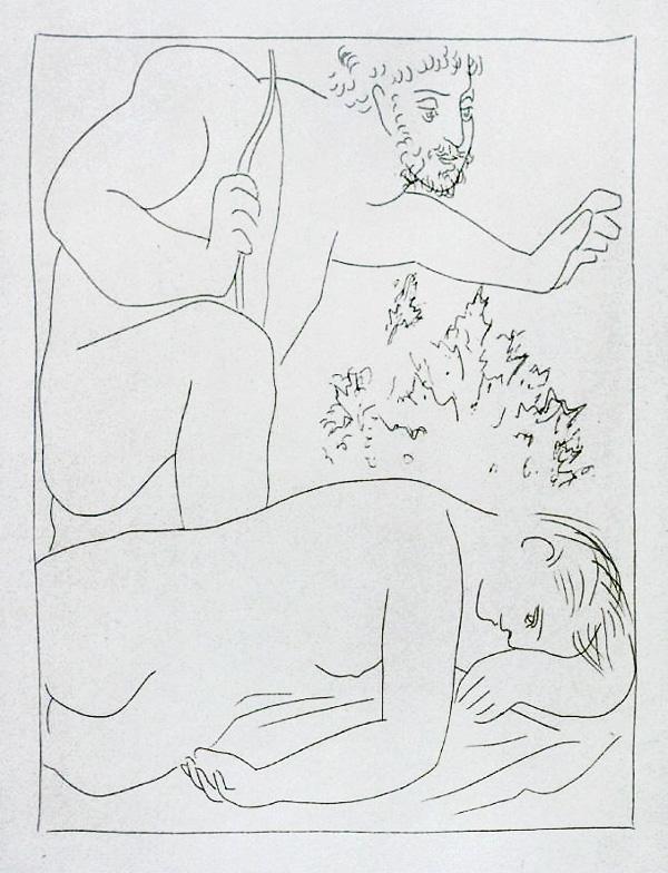 166-167_Cephale-tue-par-megarde-sa-femme-Procris_Picasso_Les-Metamorphoses-by-Ovid