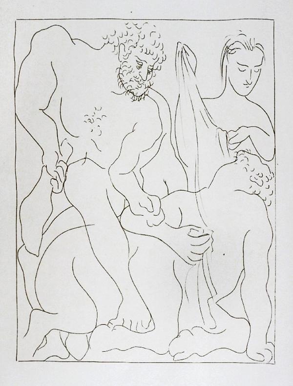 224-225_Hercule-tue-le-Centaure-Nessus_Pablo-Picasso_Les-Metamorphoses-by-Ovid