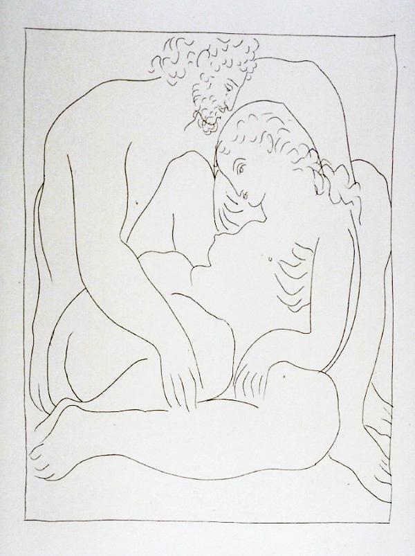 72-73_Amours-de-Jupiter-et-de-Semele_Picasso_Les-Metamorphoses-by-Ovid