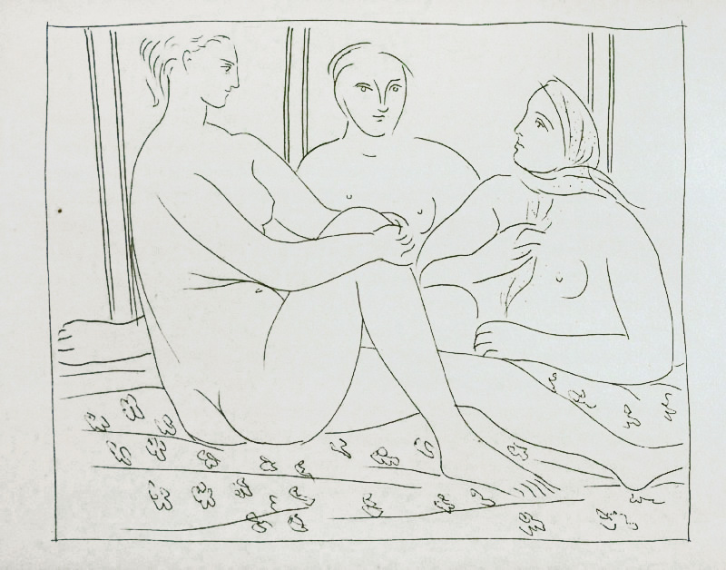 85_Trois-femmes-nues_Picasso_Les-Metamorphoses-by-Ovid