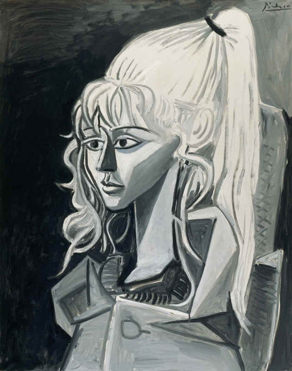 Картина Пабло Пикассо. Сильветт. 1954