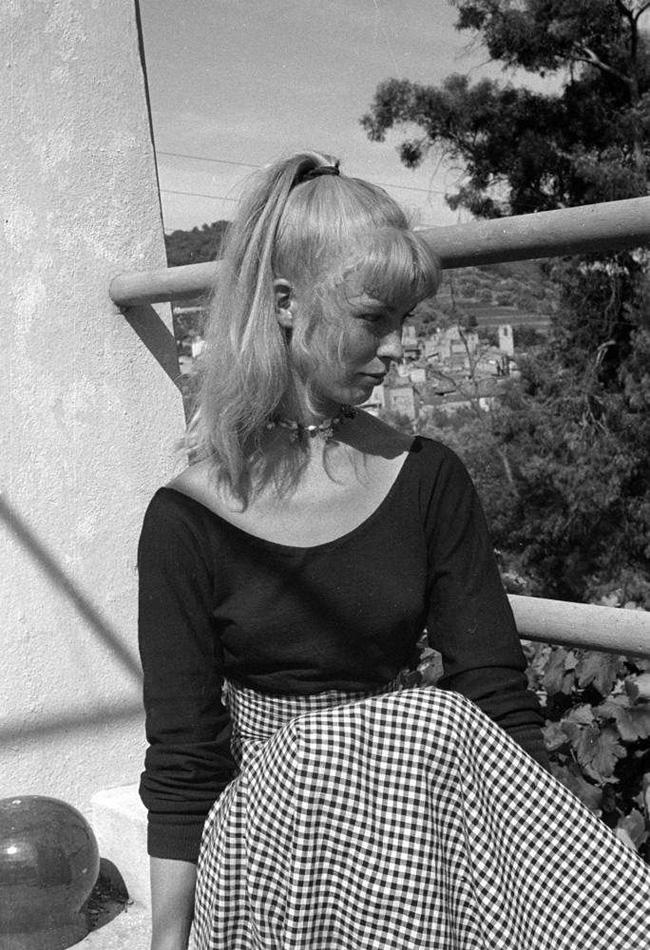 Сильветт Давид, модель Пикассо, Валлорис, 1954. Эдвард Куинн, фото 2