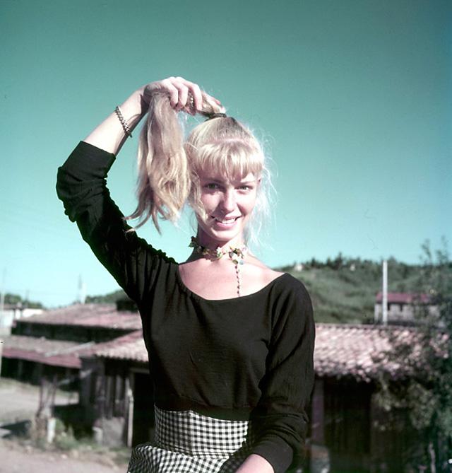 Сильветт Давид, модель Пикассо, Валлорис, 1954. Эдвард Куинн, фото 5