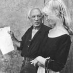 Пабло Пикассо, Сильветт Давид, Валлорис, 1954. Фото Тоби Еллинек