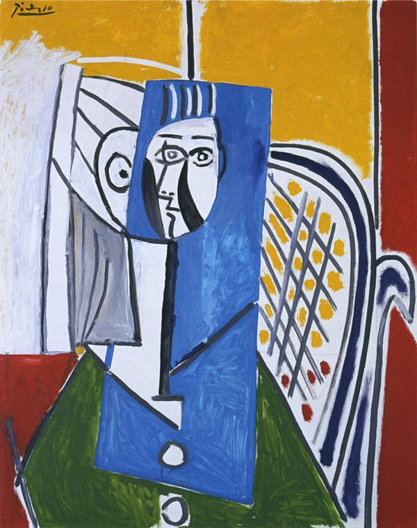 Картина Пабло Пикассо. Сильветт. 1954 ($4,61 млн)