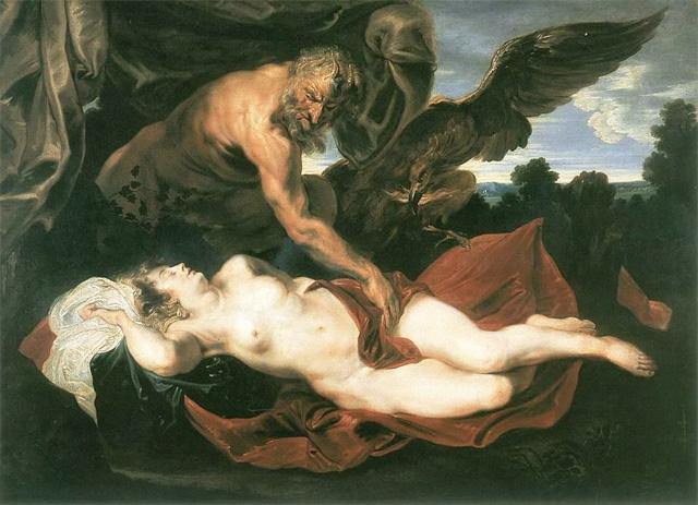 Антонис ван Дейк. Юпитер и Антиопа. 1620