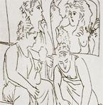 Метаморфозы Овидия, иллюстрации Пабло Пикассо, 1931