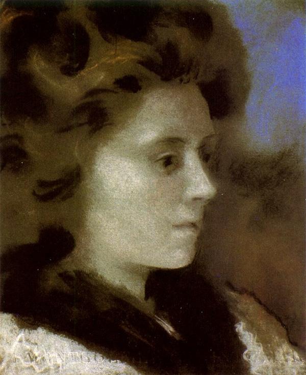 Картина Пабло Пикассо. Портрет женщины (Ольга). 1920