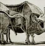 Бык Превращения - серия литографий Пикассо 1945-1946