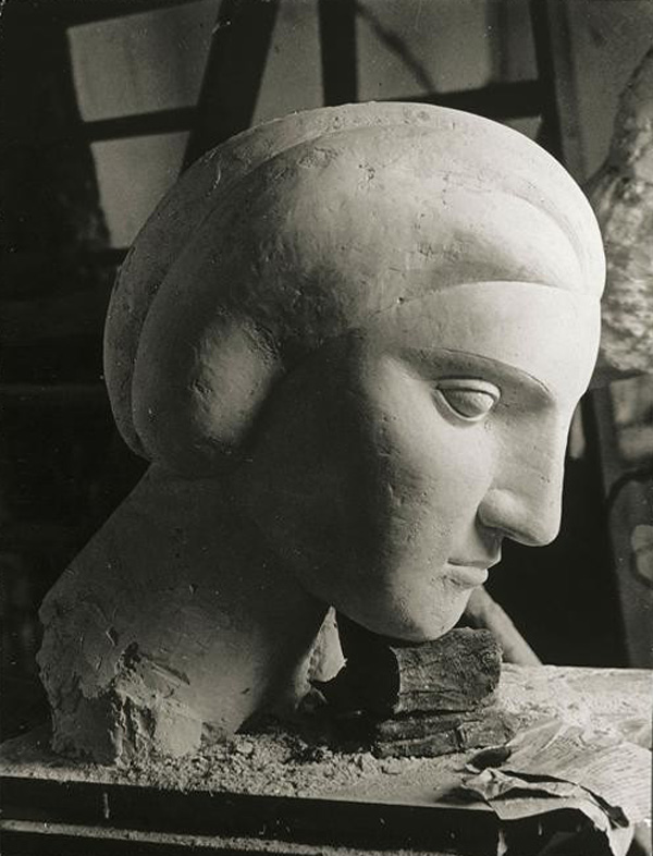 Скульптурная мастерская Пикассо в Буажелу, 1932. Брассай, фото 1