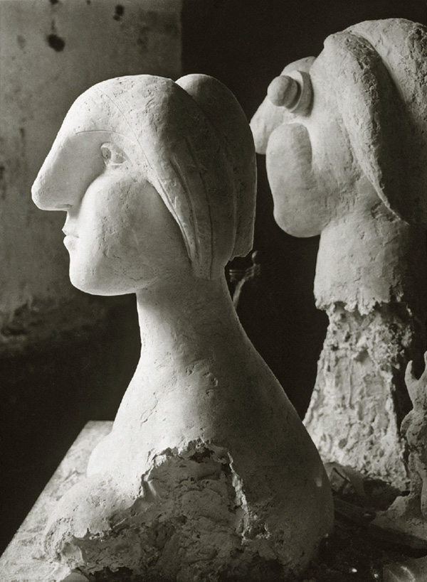 Скульптурная мастерская Пикассо в Буажелу, 1932. Брассай, фото 2