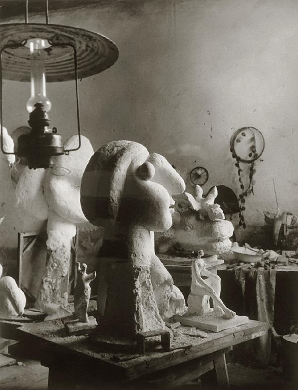 Скульптурная мастерская Пикассо в Буажелу, 1932. Брассай, фото 4