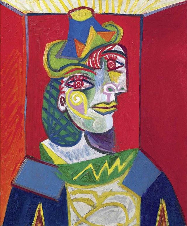 Картина Пабло Пикассо. Бюст женщины (Женщина в сеточке для волос). 1938 ($67,36 млн)