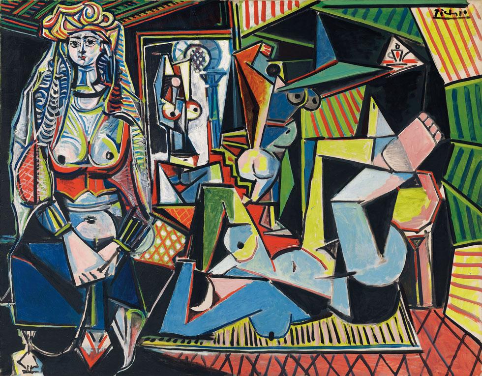 Картина Пабло Пикассо. Алжирские женщины, версия O (15). 14 февраля 1955 ($179,36 млн)