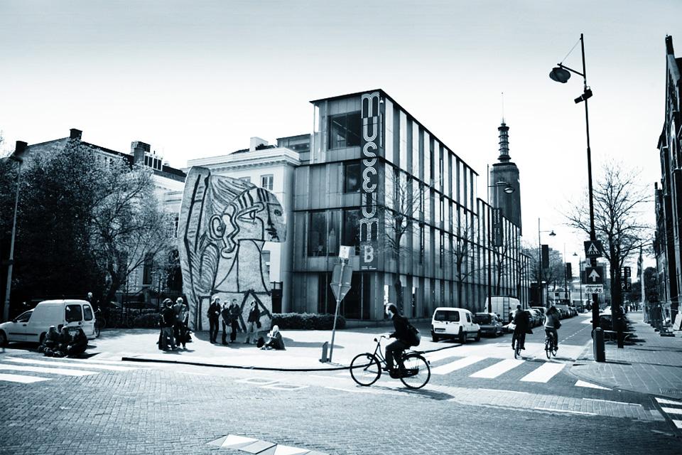 Скульптура Сильветт в Роттердаме