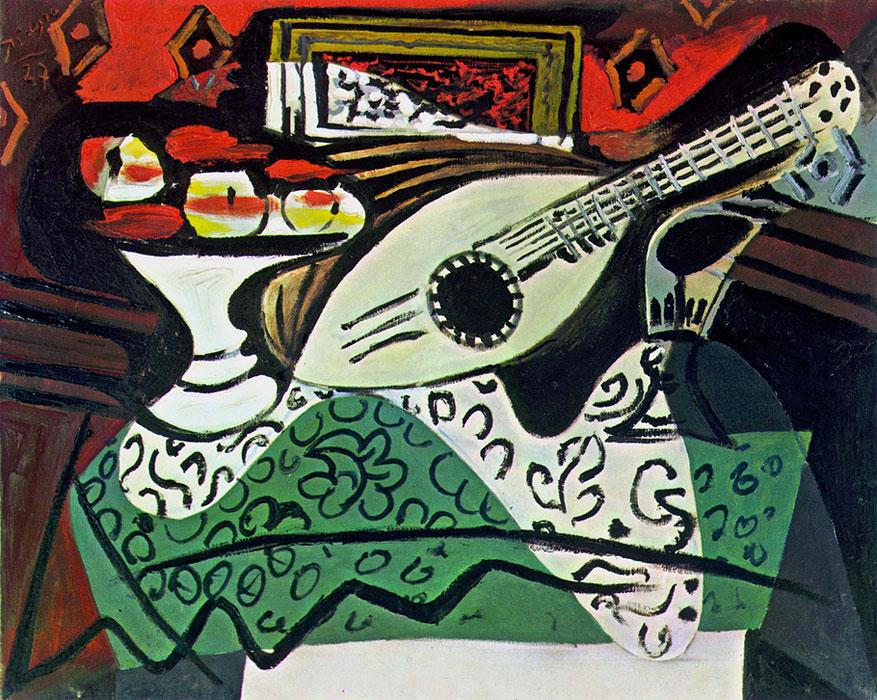 Картина Пабло Пикассо. Натюрморт. 1927