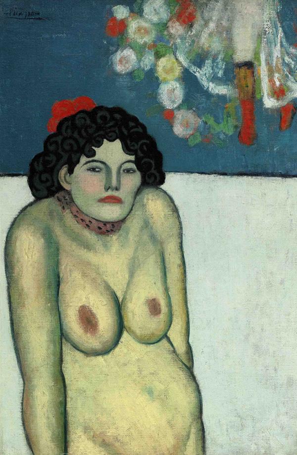 Картина Пабло Пикассо. Певица кабаре. 1901 ($67,45 млн)