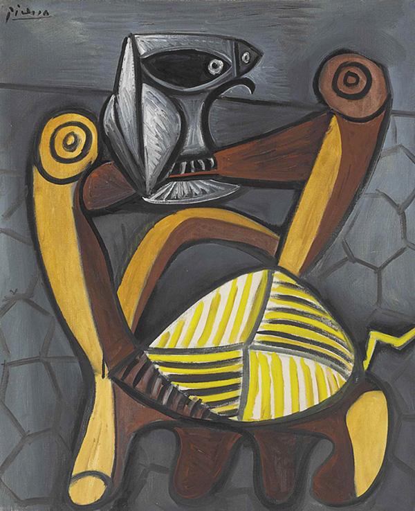 Картина Пабло Пикассо. Сова на стуле. 1947 ($5,32 млн)