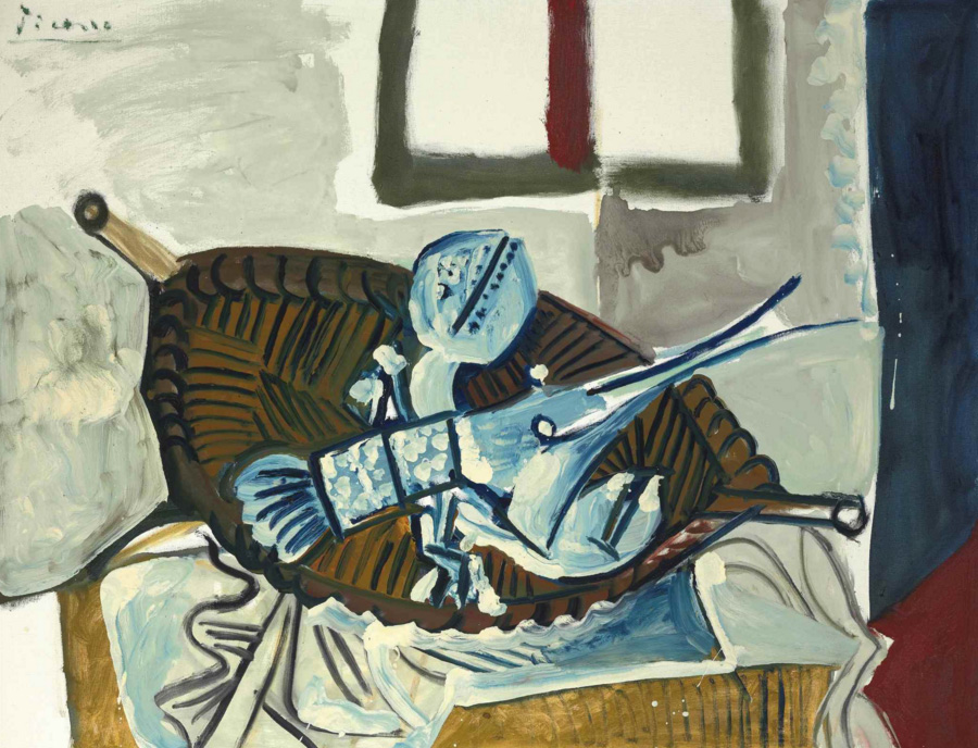 Картина Пабло Пикассо. Омар в корзине. 1965 ($2,16 млн)
