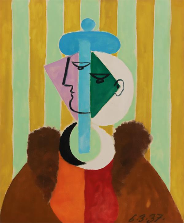 Картина Пабло Пикассо. Женский портрет. 1937 ($8,65 млн)