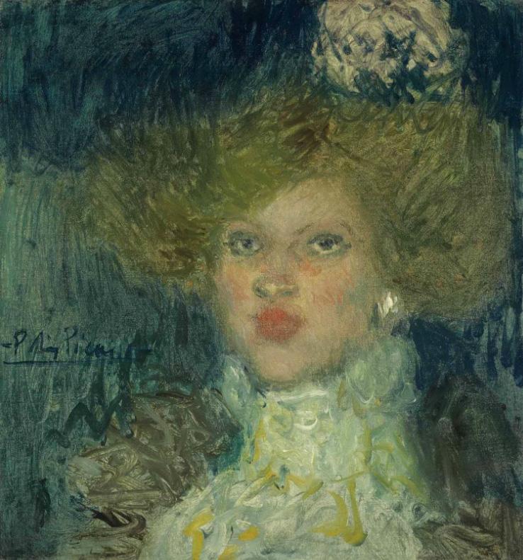 Картина Пабло Пикассо. Голова женщины. 1900 ($3,08 млн)
