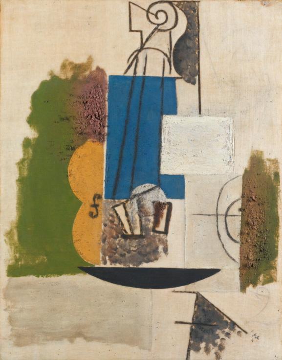 Картина Пабло Пикассо. Скрипка. 1912 ($6,41 млн)