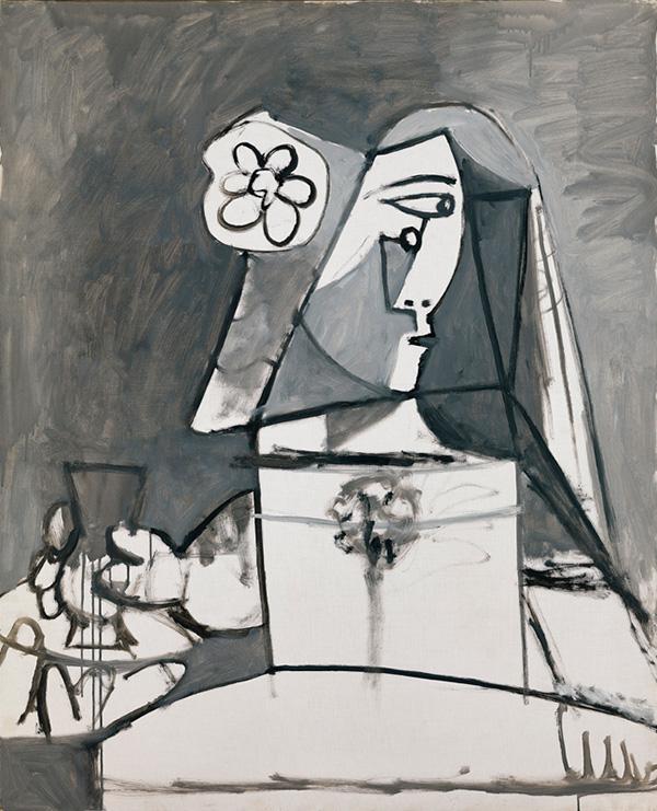 Картина Пабло Пикассо. Менины (Инфанта Маргарита Мария). Интерпретация № 2. 20 августа 1957