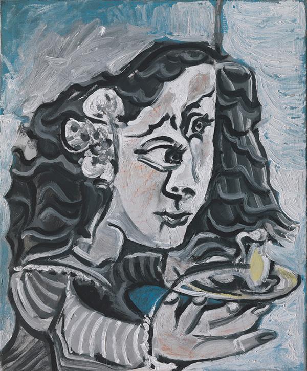 Картина Пабло Пикассо. Менины (Мария Агустина Сармьенто). Интерпретация № 3. 20 и 26 августа 1957