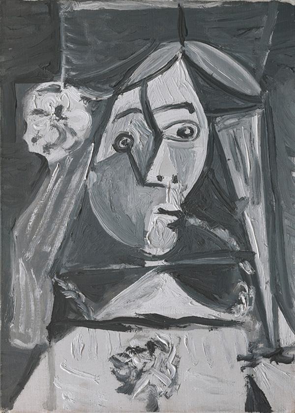 Картина Пабло Пикассо. Менины (Инфанта Маргарита Мария). Интерпретация № 5. 22 августа 1957