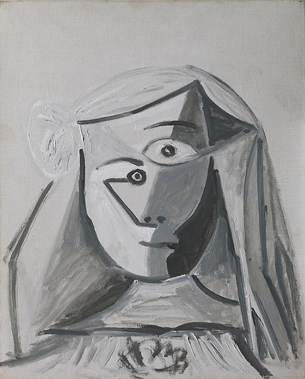 Картина Пабло Пикассо. Менины (Инфанта Маргарита Мария). Интерпретация № 7. 27 августа 1957