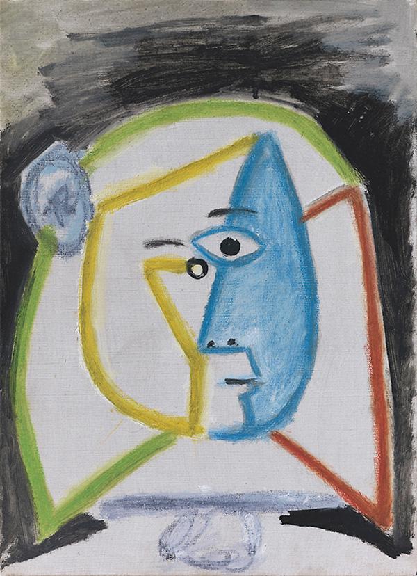 Картина Пабло Пикассо. Менины (Инфанта Маргарита Мария). Интерпретация № 8. 27 августа 1957