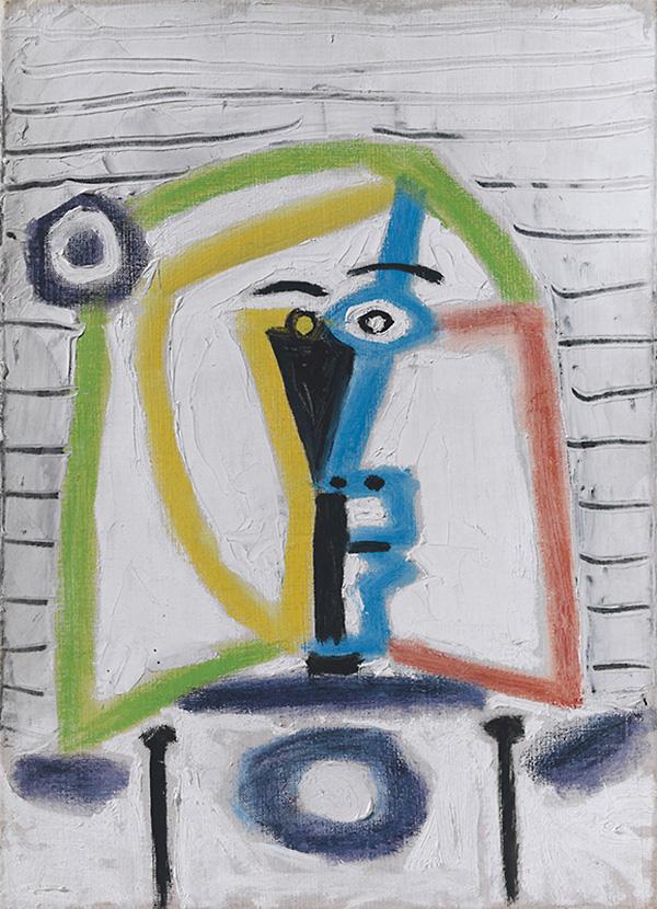 Картина Пабло Пикассо. Менины (Инфанта Маргарита Мария). Интерпретация № 9. 27 августа 1957