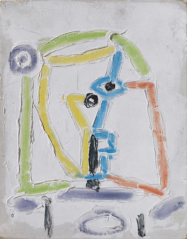 Картина Пабло Пикассо. Менины (Инфанта Маргарита Мария). Интерпретация № 10. 28 августа 1957