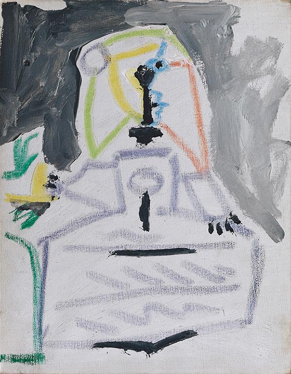 Картина Пабло Пикассо. Менины (Инфанта Маргарита Мария). Интерпретация № 11. 28 августа 1957
