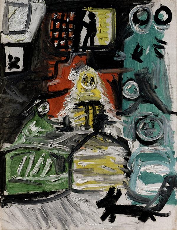 Картина Пабло Пикассо. Менины. Интерпретация № 13. 4 сентября 1957
