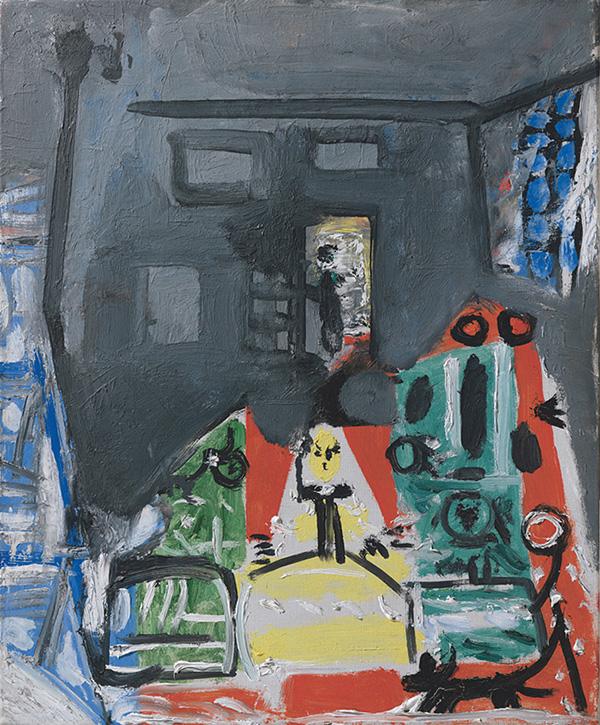 Картина Пабло Пикассо. Менины. Интерпретация № 14. 4 сентября 1957