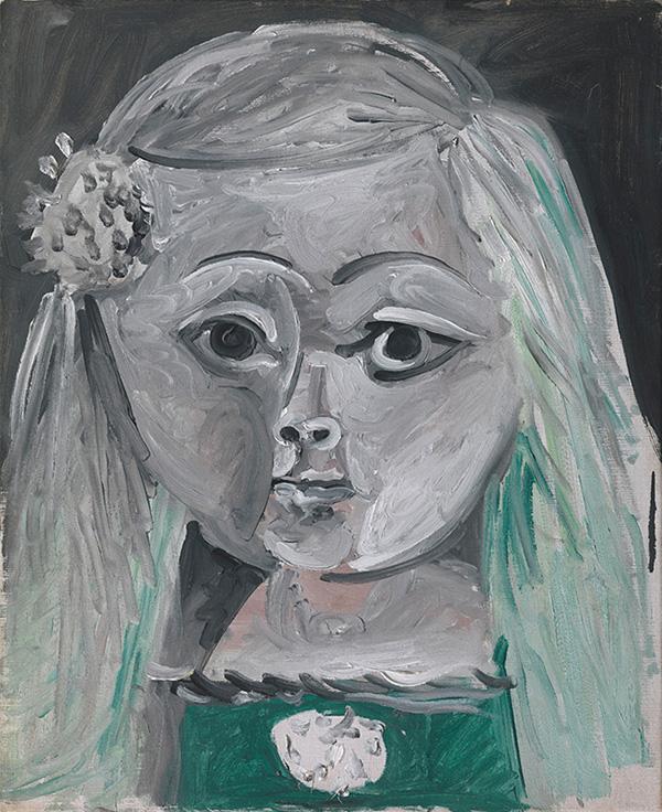 Картина Пабло Пикассо. Менины (Инфанта Маргарита Мария). Интерпретация № 17. 6 сентября 1957