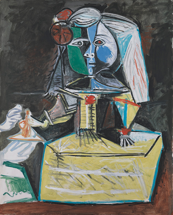 Картина Пабло Пикассо. Менины (Инфанта Маргарита Мария). Интерпретация № 18. 14 сентября 1957