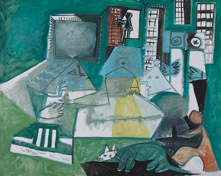 Картина Пабло Пикассо. Менины. Интерпретация № 19. 15 сентября 1957