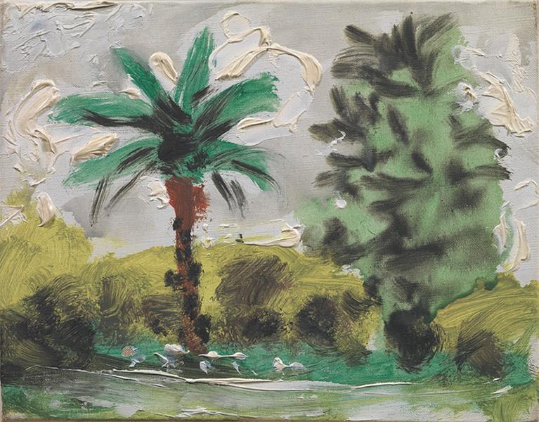 Картина Пабло Пикассо. Пейзаж (1). 2 декабря 1957