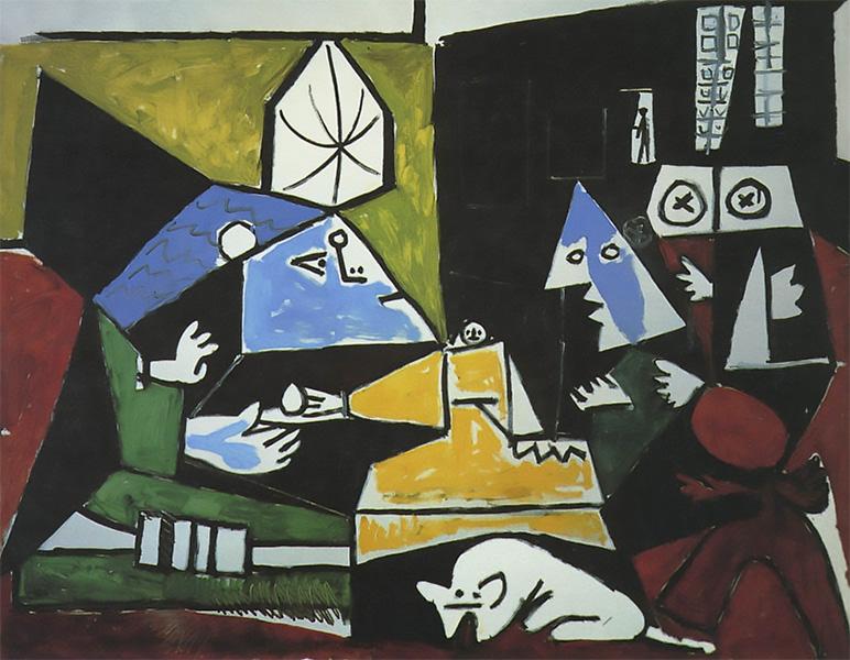 Картина Пабло Пикассо. Менины. Интерпретация № 21. 17 сентября 1957