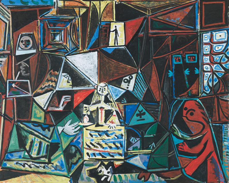Картина Пабло Пикассо. Менины. Интерпретация № 22. 18 сентября 1957