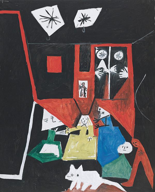 Картина Пабло Пикассо. Менины. Интерпретация № 23. 19 сентября 1957