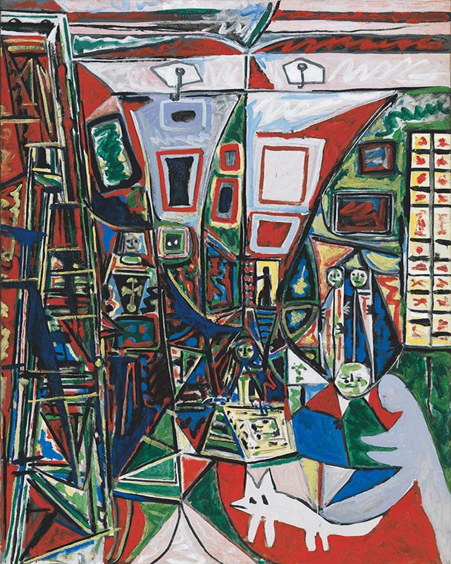 Картина Пабло Пикассо. Менины. Интерпретация № 24. 2 октября 1957