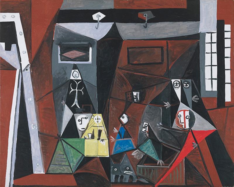 Картина Пабло Пикассо. Менины. Интерпретация № 25. 3 октября 1957